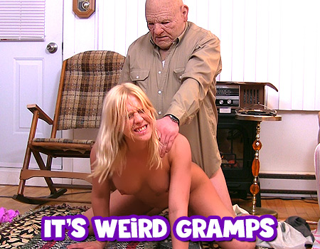 Don t go too hard Gramps! It hurts!!!